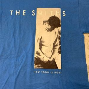 NWT The Smiths Blue Tee Shirt